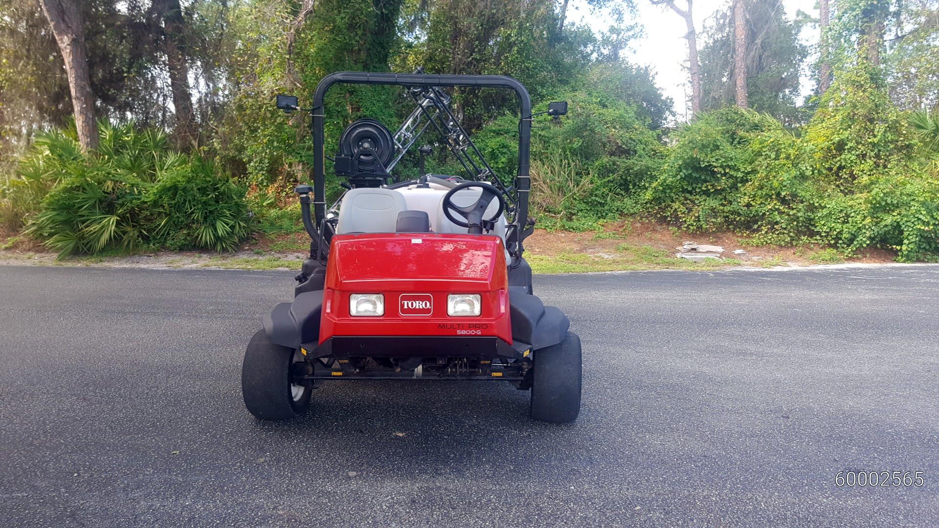 Toro Multi Pro 5800-G Excelarate